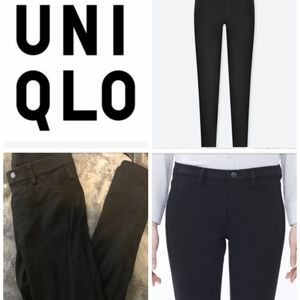 Uniqlo | black jeggings/ leggings pants